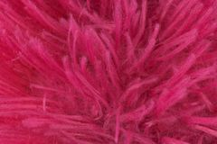 Rewolucjonistki wełny tkaniny tła różowa tekstura zdjęcie stock
