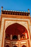 Rewolucjonistki wierza Taj Mahal kompleks w Agra, India Zdjęcie Royalty Free
