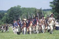 Rewolucyjny Wojenny Reenactment Fotografia Stock