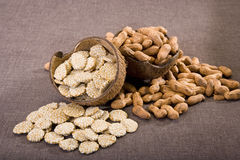 Rewri and Peanuts Stock Images