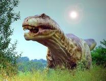 rex τυραννόσαυροι Στοκ Εικόνες