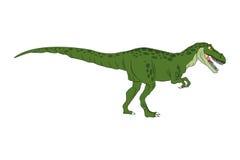 Rex cômico do tiranosaur dos desenhos animados do dinossauro ilustração royalty free