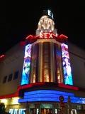 Rex Cinema Theater Paris Imagen de archivo libre de regalías