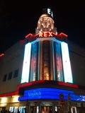 Rex Cinema Theater Paris imágenes de archivo libres de regalías
