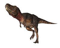 Rex de dinosaur de Dino pensant environ illustration stock