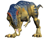 Rex de Tyrannosaurus de T-rex, illustration de dinosaur Image stock