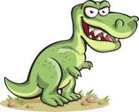Rex di tirannosauro, isolato su bianco Immagine Stock Libera da Diritti