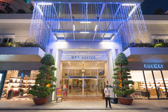 Rex Hotel i Saigon Royaltyfria Foton