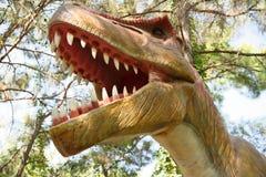 Rex-Late /150-65 cretáceo do tiranossauro milhão anos há Em Imagens de Stock