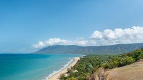 Rex Lookout, baie de trinité, Coral Sea, capitaine Cook Highway, QLD, Images libres de droits