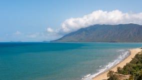 Rex Lookout, baie de trinité, Coral Sea, capitaine Cook Highway, QLD, Photos libres de droits