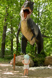 rex t динозавра Стоковое Изображение RF