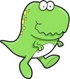逗人喜爱的恐龙rex t 库存图片