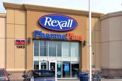 Rexall Pharma Plus in Ottawa Stock Photos