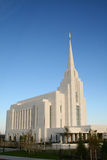 Rexburg LDS Temple Royalty Free Stock Photos