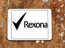 Rexona logo Royalty Free Stock Images