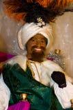 Rey bíblico negro de unos de los reyes magos Fotos de archivo