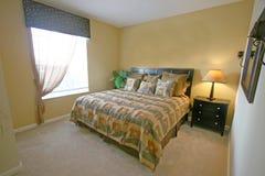 Rey Bedroom foto de archivo