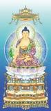 Rey Buddha fotografía de archivo libre de regalías