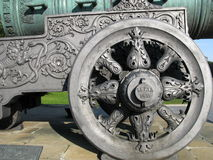 Rey-cañón (Tsar-pushka) Fotografía de archivo