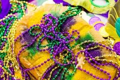 Rey Cake Fotografía de archivo libre de regalías