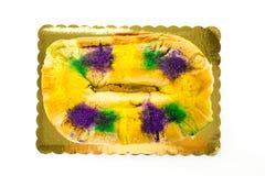 Rey Cake Fotos de archivo