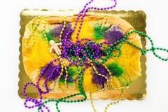 Rey Cake Fotografía de archivo