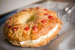 Rey Cake Foto de archivo libre de regalías