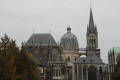 Rey Charlemagnes Cathedral Germany fotos de archivo