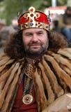 Rey Charles IV de Bohemia Imagen de archivo libre de regalías