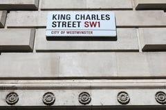 Rey Charles Street Foto de archivo