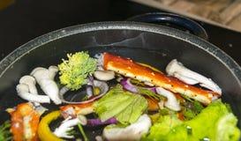 Rey Crab Dishes Imagen de archivo libre de regalías