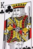 Rey de clubs imagen de archivo libre de regalías