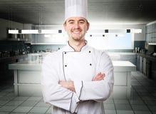 Rey de la cocina imagen de archivo