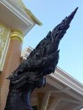 Rey de la estatua de la cabeza del Naga Imagen de archivo libre de regalías