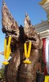 Rey de la estatua de Nagas Fotos de archivo