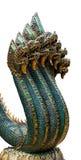 Rey de la estatua Na-GA con siete cabezas Imagen de archivo libre de regalías