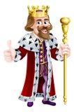 Rey de la historieta Imágenes de archivo libres de regalías