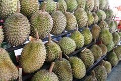 Rey de los Durians de frutas Fotografía de archivo