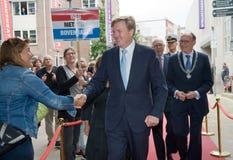 Rey de los Países Bajos Imágenes de archivo libres de regalías