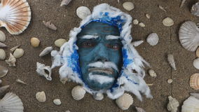 Rey de mar azul almacen de metraje de vídeo
