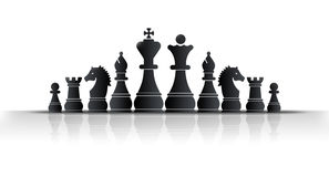 Rey del ajedrez Imagen de archivo