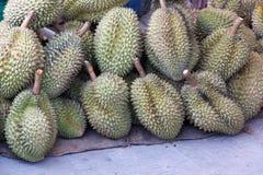 Rey del Durian de la fruta imagen de archivo