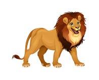 Rey del león ilustración del vector