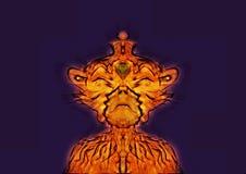 Rey del mono Foto de archivo