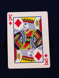 Rey del naipe de diamantes imágenes de archivo libres de regalías