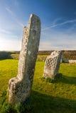 Rey Donierts Stone Cornwall imagen de archivo