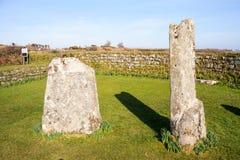 Rey Donierts Stone Cornwall foto de archivo libre de regalías