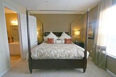 Rey dormitorio principal Fotografía de archivo libre de regalías