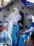 Rey en el desfile del duodécimo día Foto de archivo